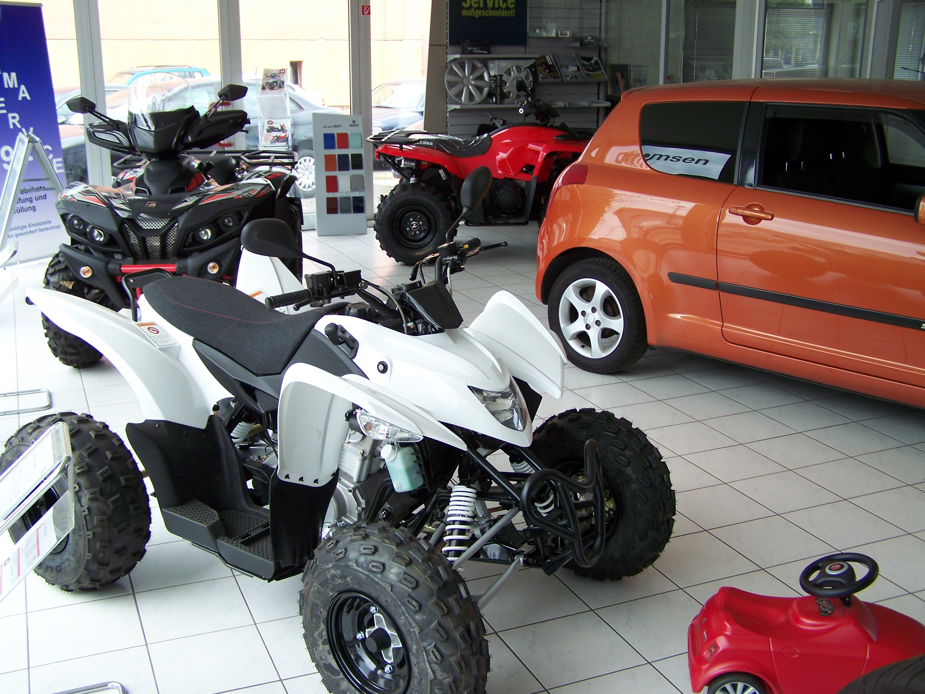 Quads aus dem ACIT Sortiment ACIT Auto Center in Treptow Berlin